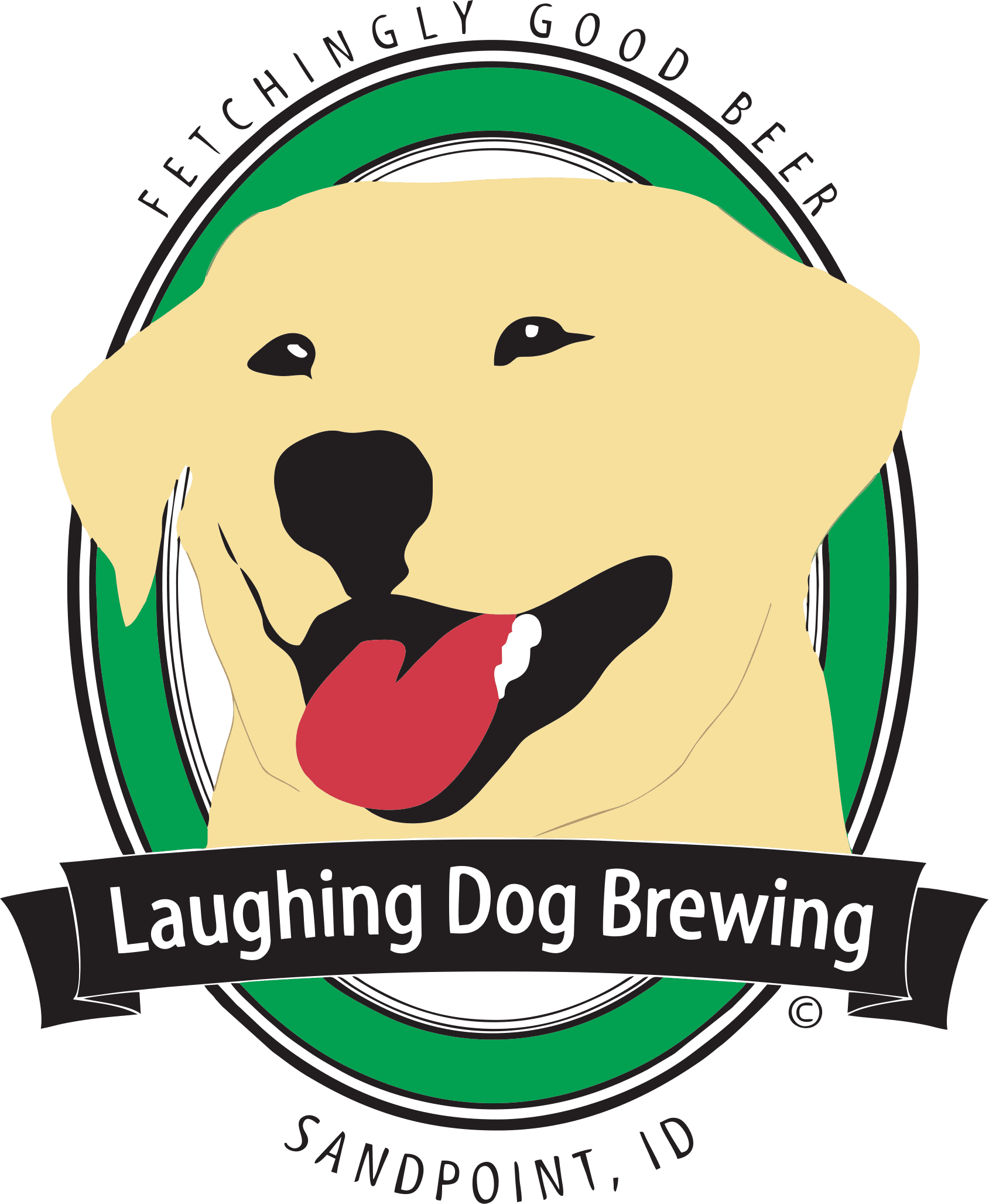 8 laughing dog